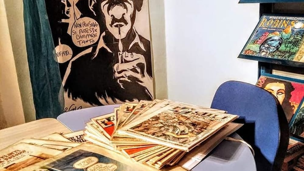 """Una serata fumettistica """"Nel segno di Paz"""" - RavennaToday"""