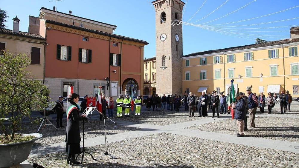 Bagnacavallo, celebrata la Festa dell'Unità Nazionale e delle Forze Armate - RavennaToday