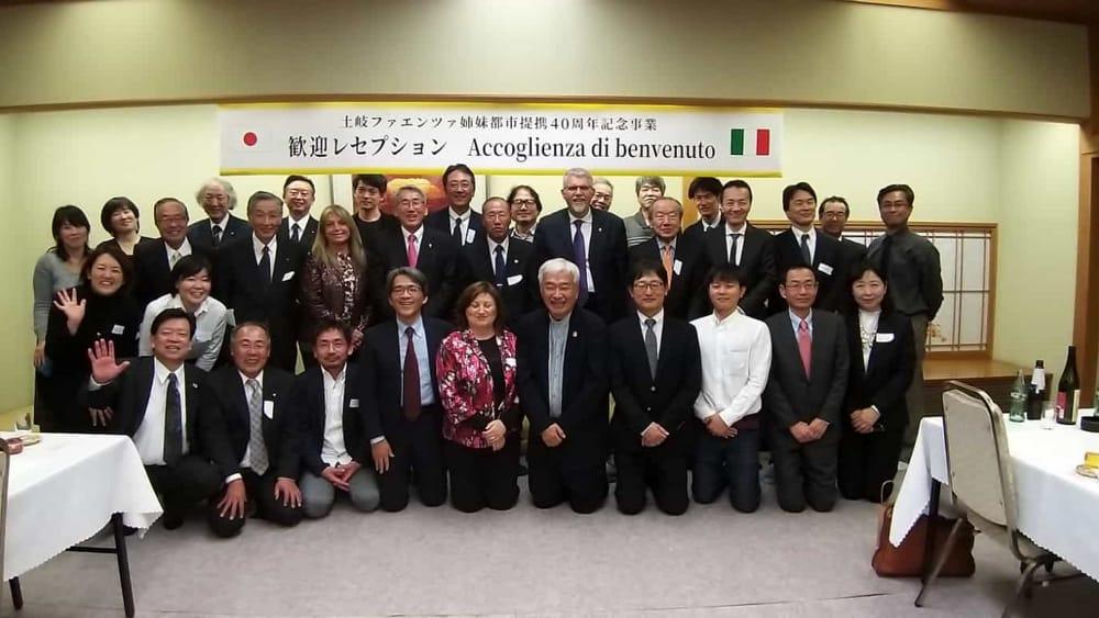 Da Faenza al Giappone per il 40esimo anniversario del gemellaggio con Toki - RavennaToday